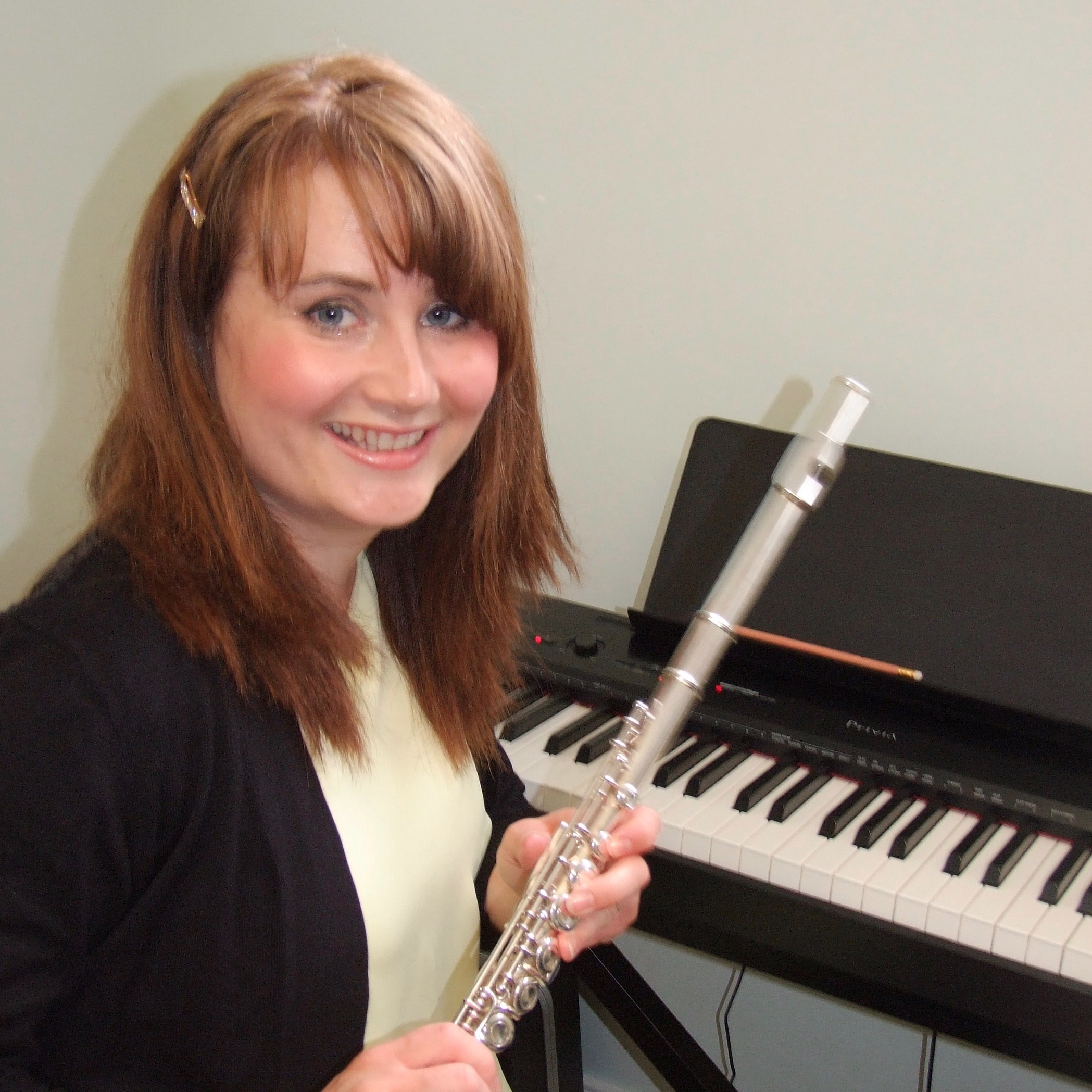 Jessica with flute